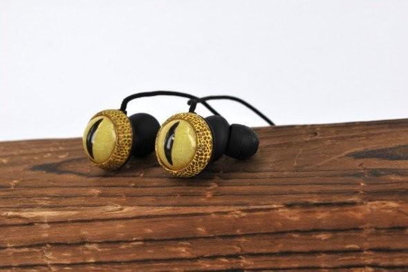Beware snake zombie thriller headphones ear science encyclopedia