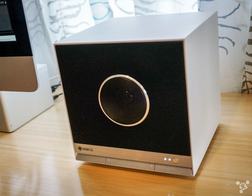 Show smaller somatic energy Raumfeld cube speaker quality