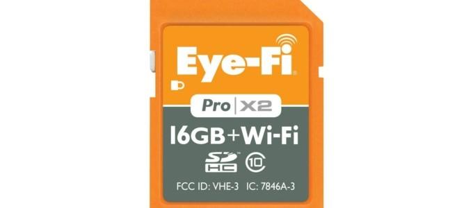 Low price: Eye-Fi Pro X2 16GB. 99