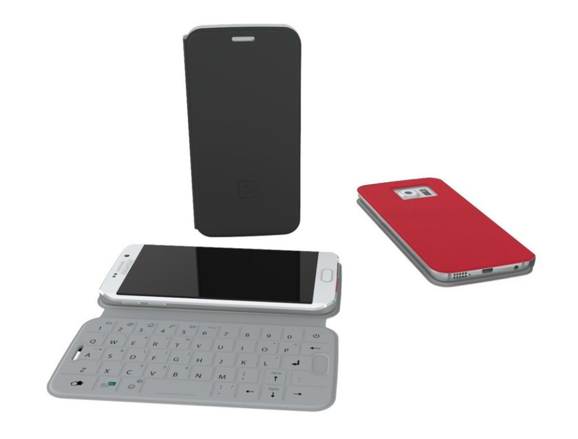 For a small group of students, SlimType QWERTY clamshell mobile phone housing